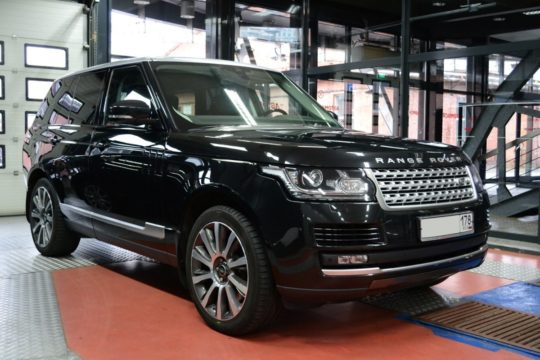 Range Rover Vouge Евротонирование LLumar ATR 20%