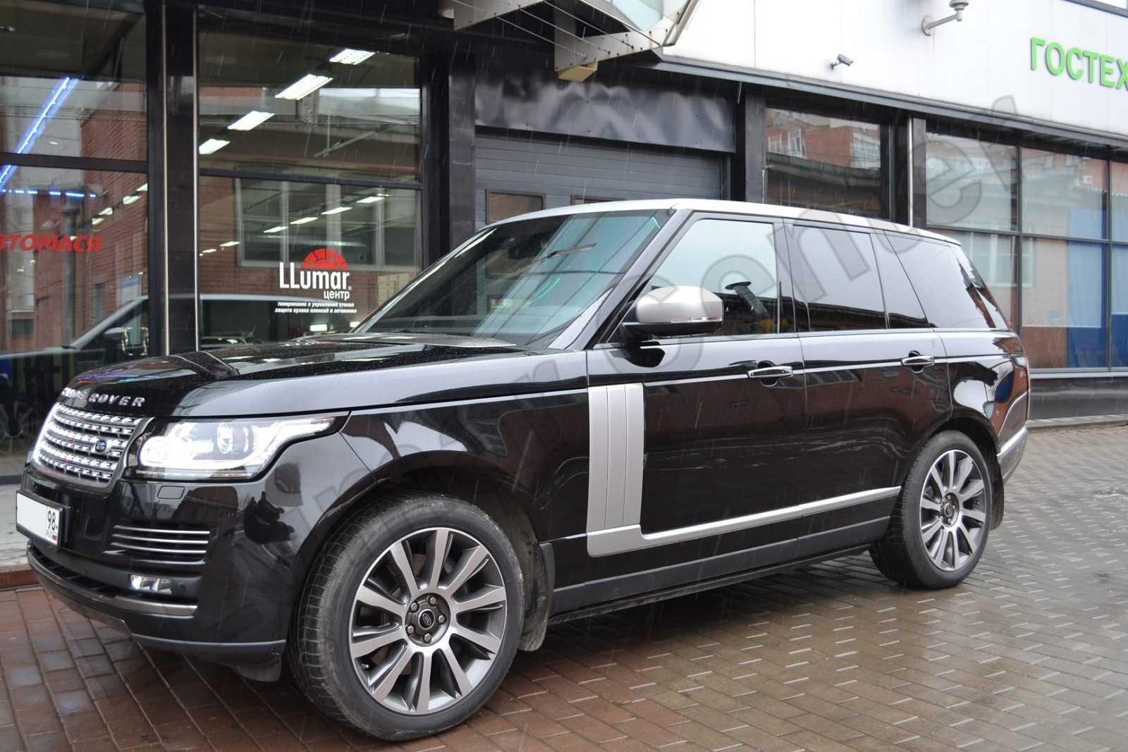 Range Rover Оклейка пленкой