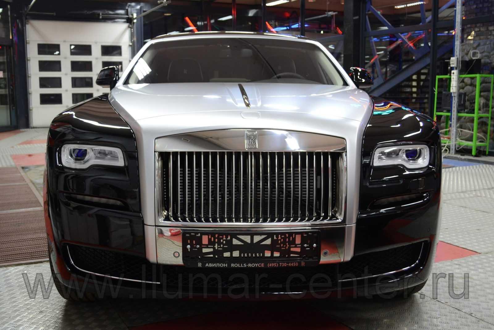 Rolls Royce Ghost Евротонирование LLumar ATR 05%