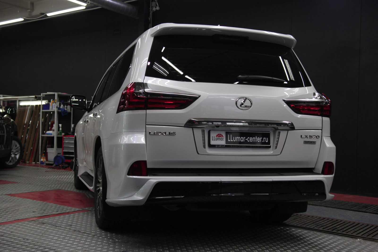 Lexus LX570 защита кузова