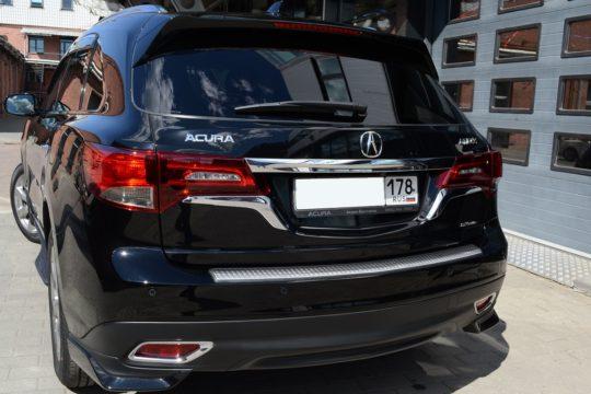 Acura MDX Оклейка пленкой LLumar PPF Gloss