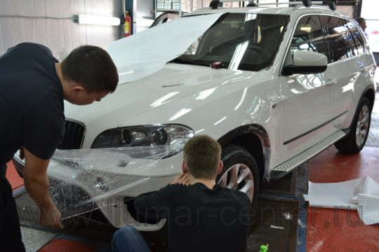 BMW X5 Оклейка пленкой