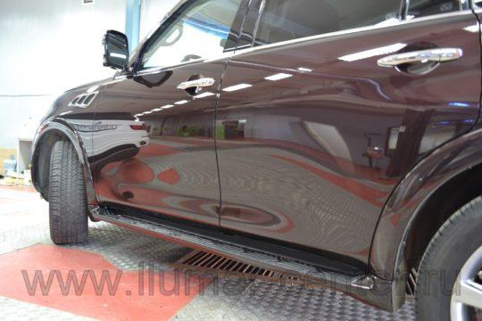 Infinity QX56 Евротонирование LLumar ATR 5%