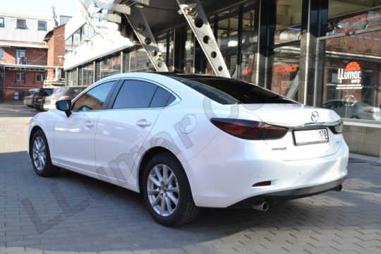 Mazda 6 Защита кузова антигравийным материалом LLumar PPF Gloss