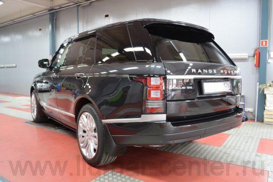 Range Rover Антигравийный материал LLumar PPF Gloss
