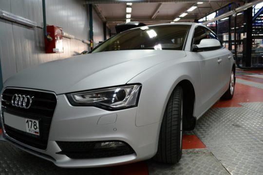 Завершили работы по оклейке Audi A5