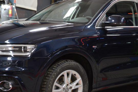 AUDI Q3  защита кузова антигравийной пленкой