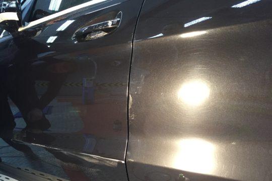 MERCEDES BENZ GL 500 Оклейка защитной пленкой