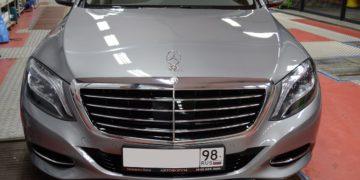 Mercedes-benz S klasse W222 Защита пленкой