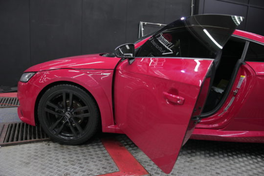 AUDI TT Тонировка с передними стеклами