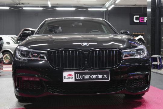 BMW 530D Защита кузова LLumar PPF Gloss