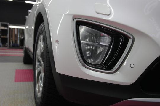 KIA SORENTO Полировка, оклейка передней части кузова