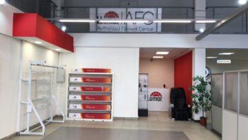 Новый фирменный центр на Богатырском