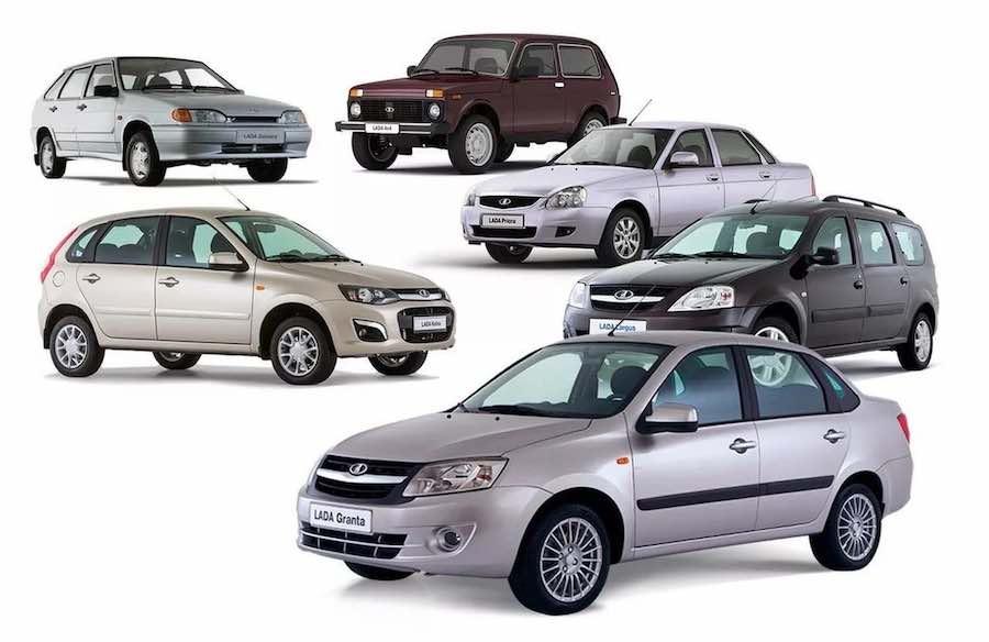 Тонировка авто в СПб: Лады всех модификаций