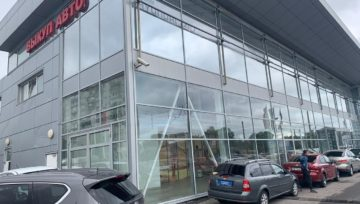 Новый фирменный центр на Выборгском шоссе