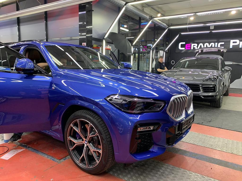 Защита кузова BMW